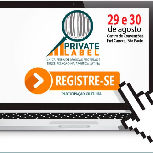 Últimos dias para garantir seu ingresso para o 6º Congresso Brasileiro de Marcas Próprias e Terceirização