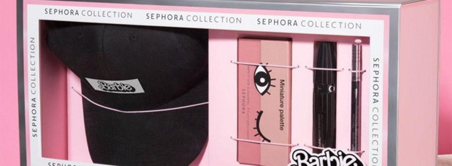 Sephora Lança Kit de Maquiagem Marca Própria em parceria com a Barbie