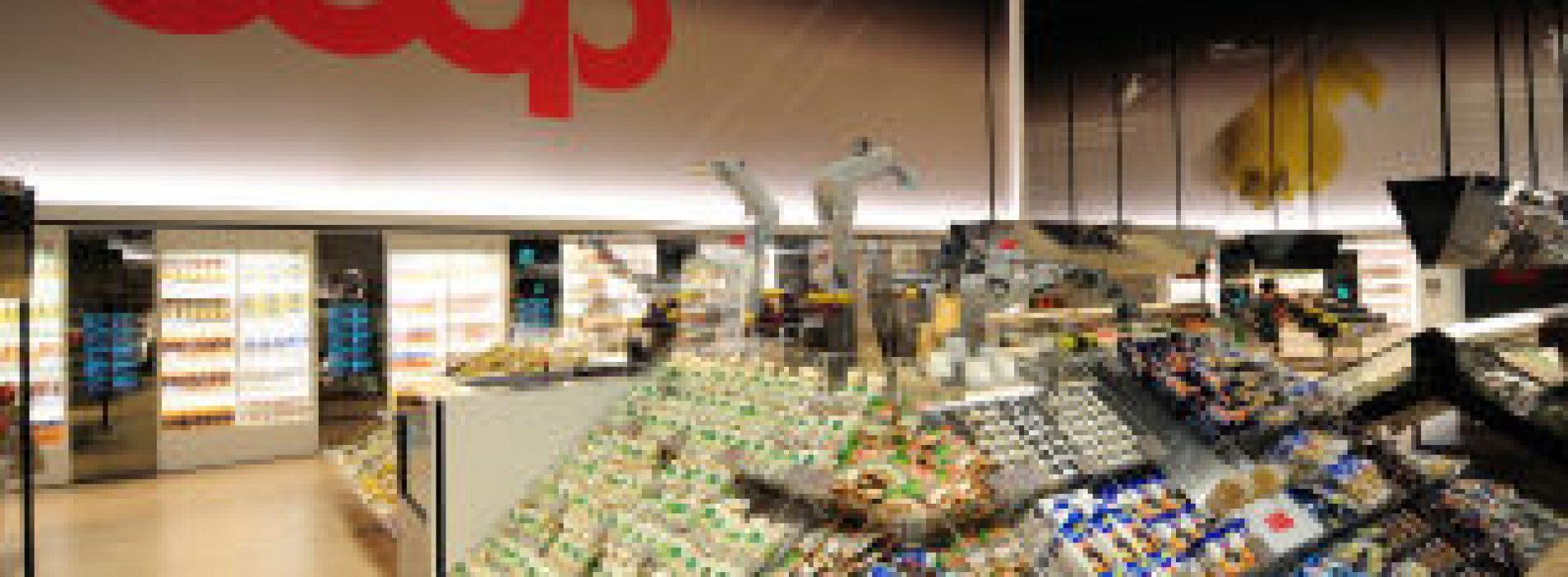 Rede italiana Coop reduz uso de plástico