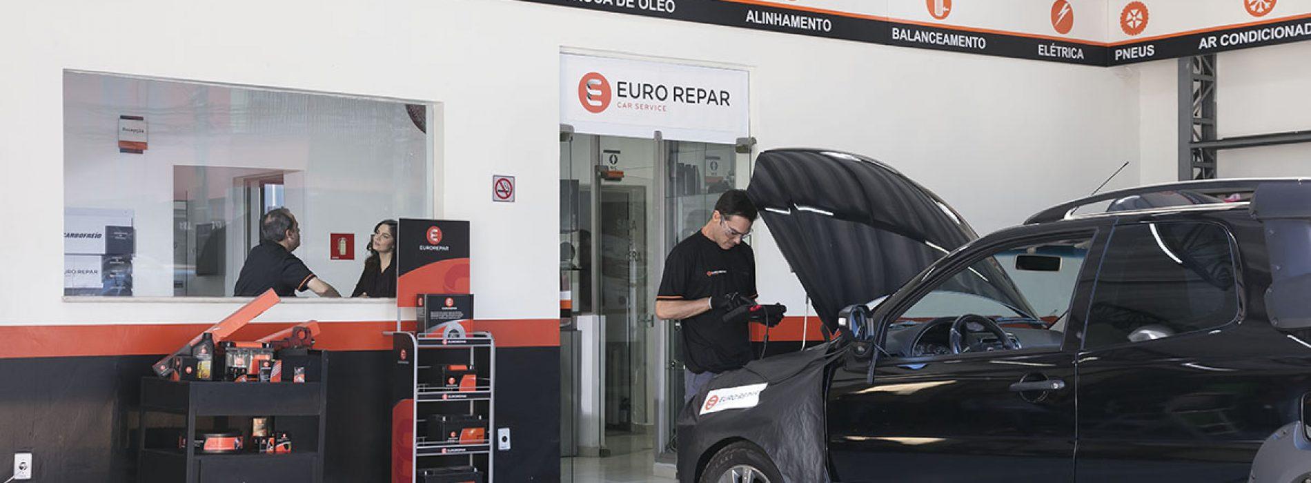 Rede de oficinas Euro Repar acelera crescimento no Brasil