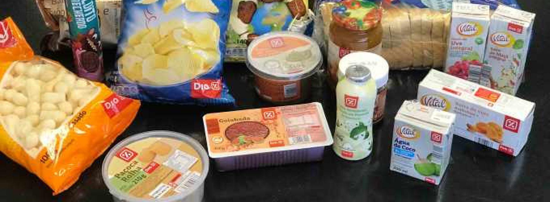 Veja testou os produtos do supermercado Dia%
