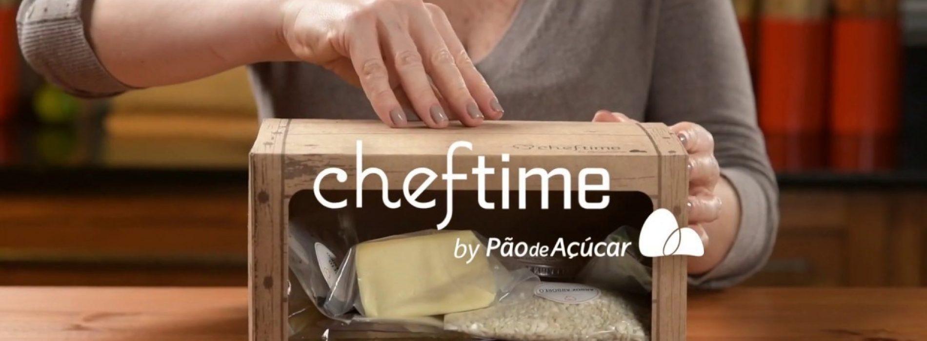 Um novo jeito de cozinhar: kits Cheftime by Pão de Açúcar