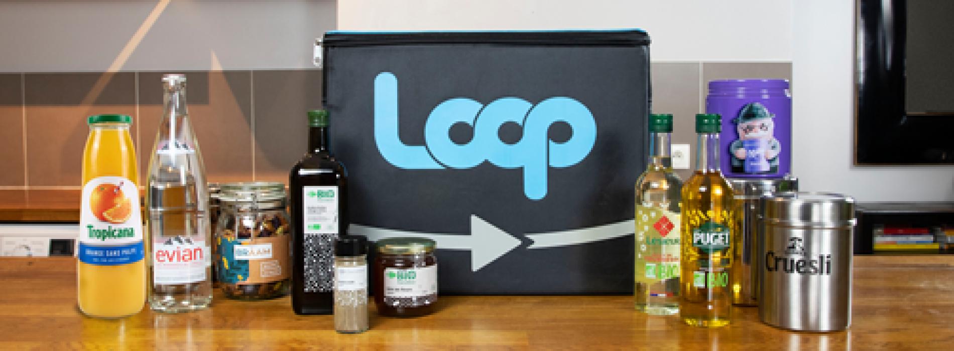 O Carrefour estreou em França um novo site de e-commerce designado de Loop