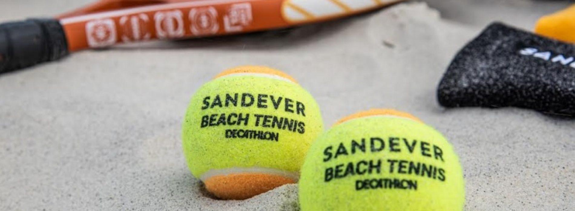 Decathlon cresce no beach tennis com marca própria Sandever