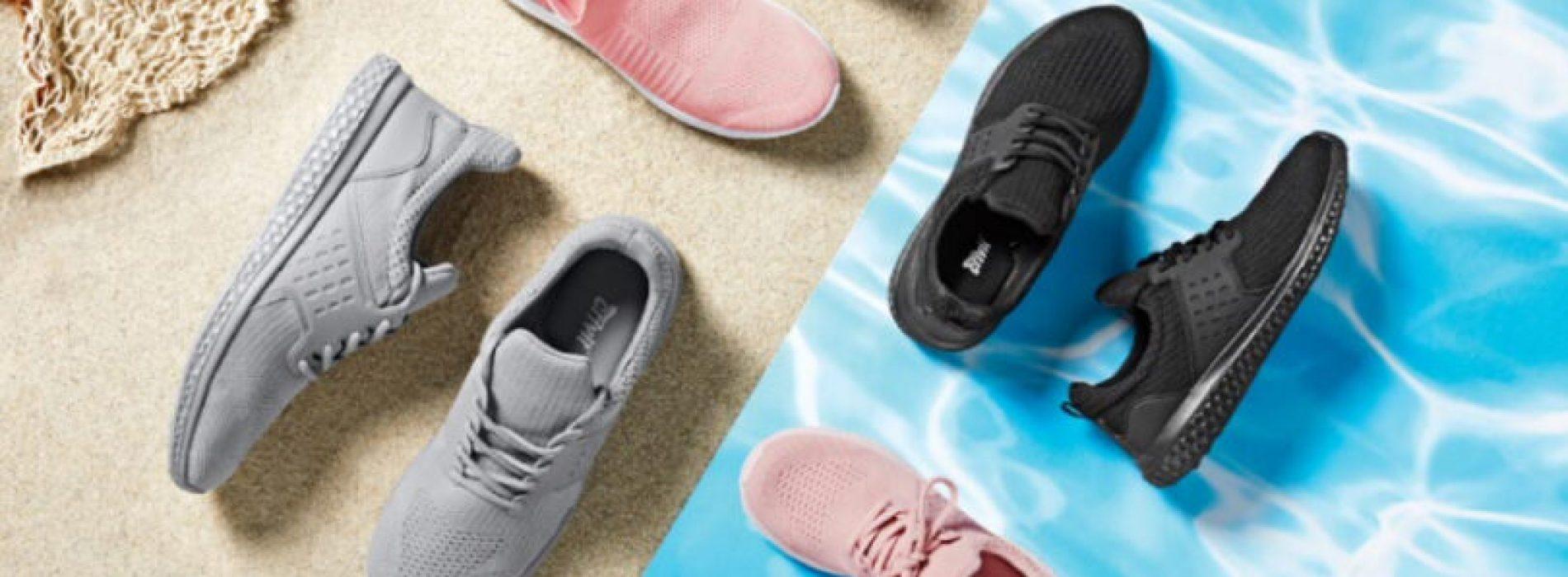 Lidl lança ténis de marca própria feitos com plástico reciclado