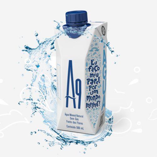 Água mineral começa a ser vendida em embalagens Tetra Pak no Brasil