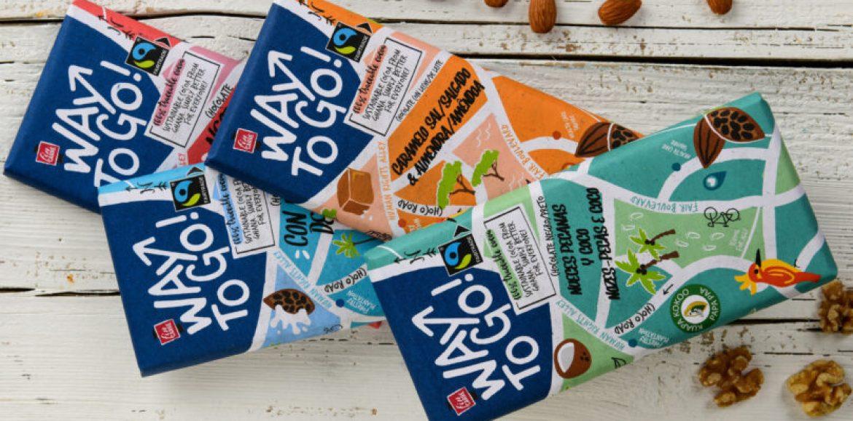 Lidl aposta em gama de chocolates sustentáveis 'Way to Go'
