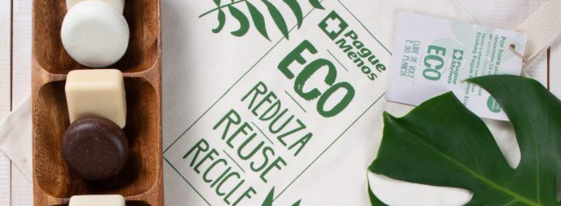 Marcas Próprias da Pague Menos lança linha de shampoos e condicionadores sólidos ECO
